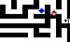 Een wedstrijd in een labyrint. Is de computer sneller en slimmer of wordt jij de winnaar in de zoektocht door een labyrint.