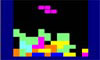 Met deze Tetris kun je zelf de snelheid van de blokjes instellen.